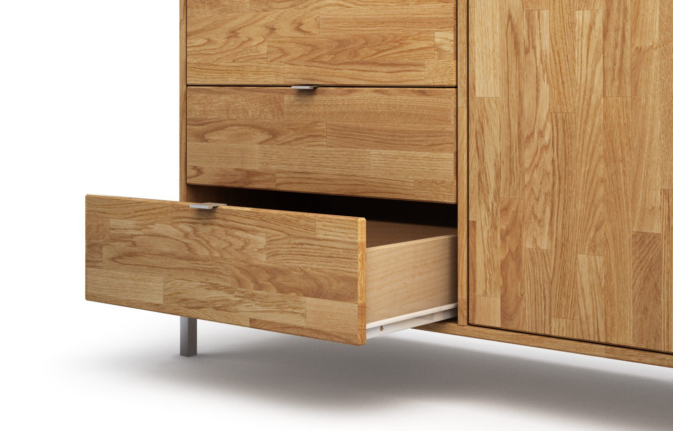 meatus in eiche sideboard. Black Bedroom Furniture Sets. Home Design Ideas