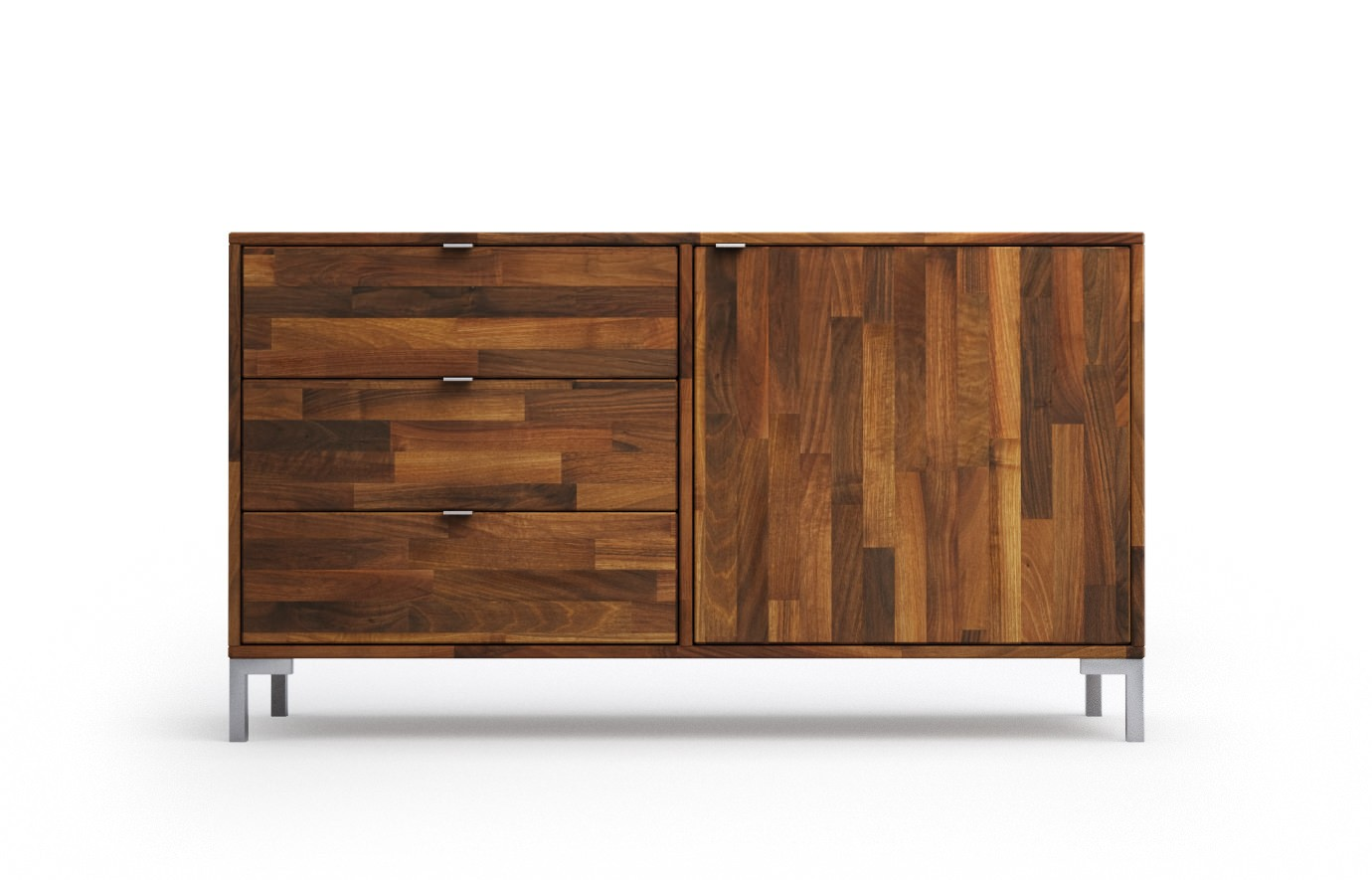 meatus in nussbaum sideboard. Black Bedroom Furniture Sets. Home Design Ideas