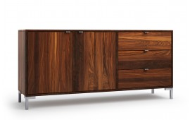 delato in nussbaum sideboard. Black Bedroom Furniture Sets. Home Design Ideas