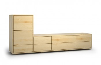 sideboards aus ahorn nach ma aus massivholz gefertigt. Black Bedroom Furniture Sets. Home Design Ideas