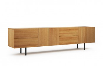 berlin sideboard 01 wildeiche massiv ge lt smash. Black Bedroom Furniture Sets. Home Design Ideas
